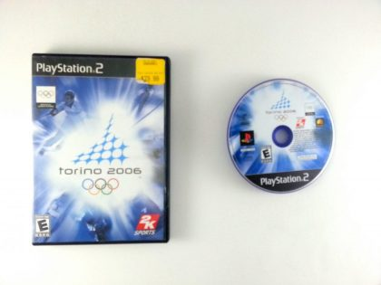 Torino 2006 game for Sony Playstation 2 PS2 -Game & Case