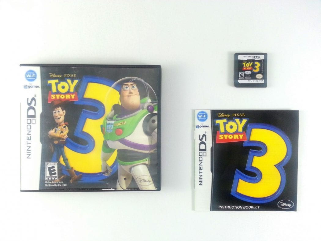 Toy Game On Ds : Toy story the video game for nintendo ds complete