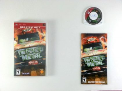 Twisted Metal Head On game for Sony PSP -Complete