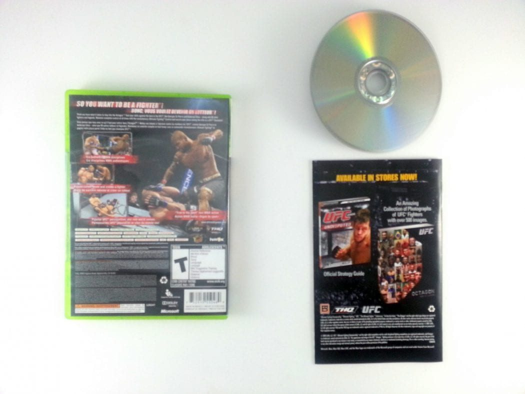 UFC 2009 Undisputed game for Xbox 360 (Complete) | The Game Guy