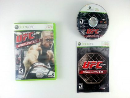 UFC 2009 Undisputed game for Microsoft Xbox 360 -Complete