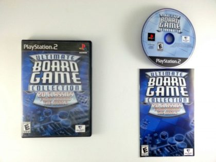 Ultimate Board Game Collection game for Playstation 2 (Complete) | The Game Guy