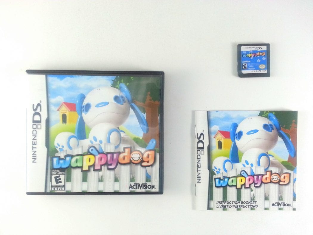 Wappy Dog game for Nintendo DS -Complete