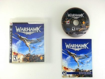 Warhawk game for Sony Playstation 3 PS3 -Complete