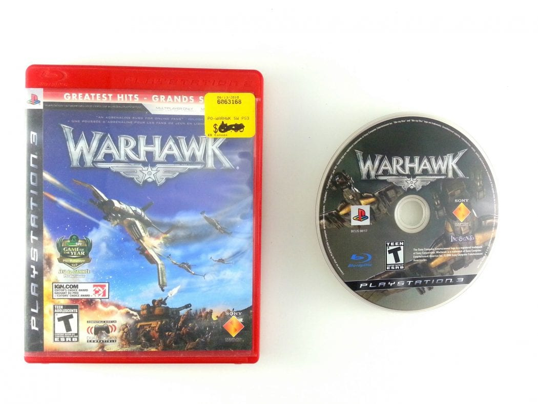 Warhawk game for Sony Playstation 3 PS3 -Game & Case