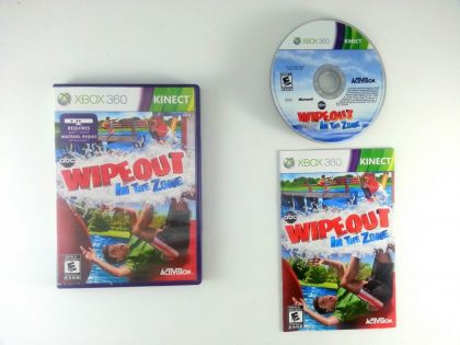 Wipeout In the Zone game for Microsoft Xbox 360 -Complete