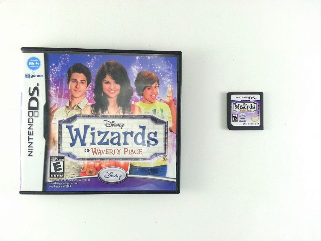 Wizards of Waverly Place game for Nintendo DS -Game & Case