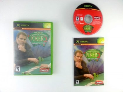 World Championship Poker 2 game for Microsoft Xbox -Complete