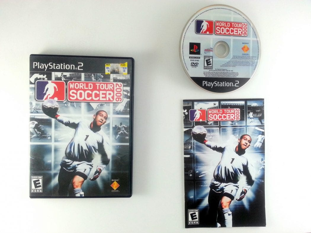 World Tour Soccer 2006 game for Sony Playstation 2 PS2 -Complete