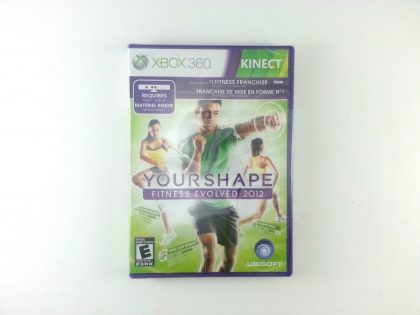 Your Shape: Fitness Evolved 2012 game for Microsoft Xbox 360 - New