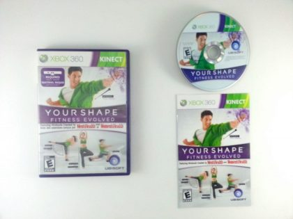 Your Shape: Fitness Evolved game for Microsoft Xbox 360 -Complete