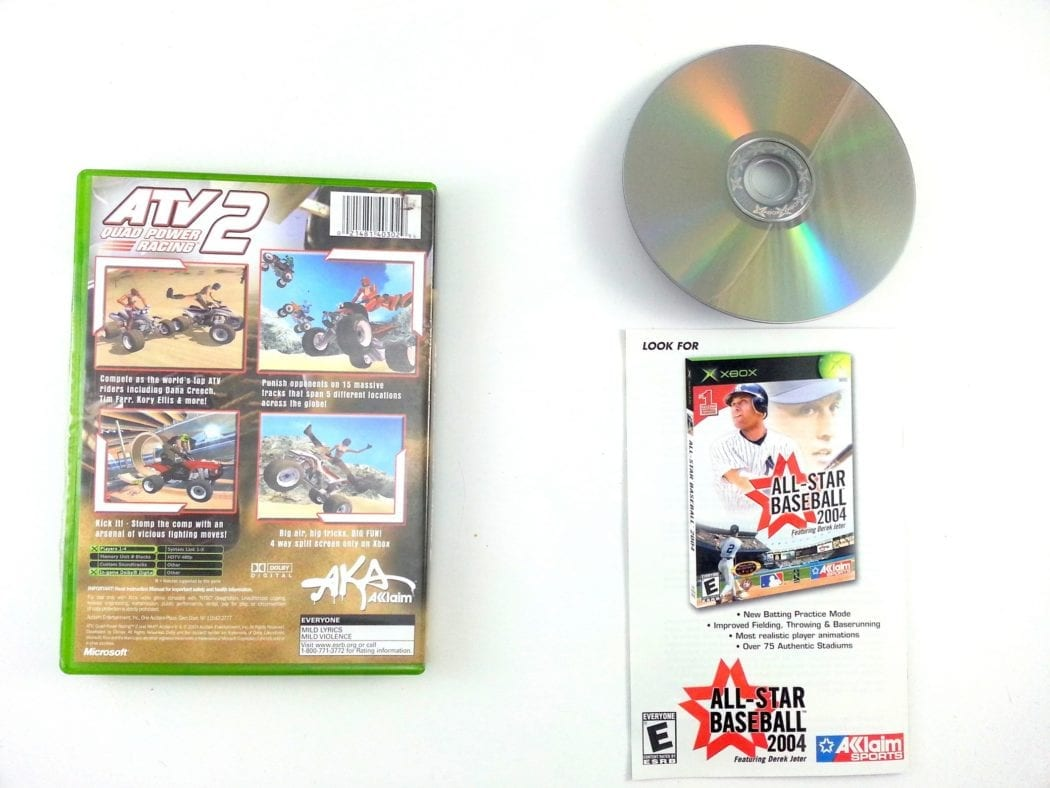 ATV Quad Power Racing 2 game for Xbox (Complete) | The Game Guy