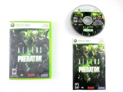 Aliens vs. Predator game for Microsoft Xbox 360 -Complete
