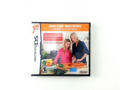 America's Test Kitchen: Let's Get Cooking game for Nintendo DS - New
