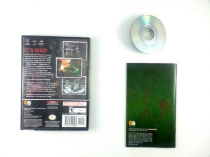 Army Men Sarge's War game for Gamecube (Complete)   The Game Guy