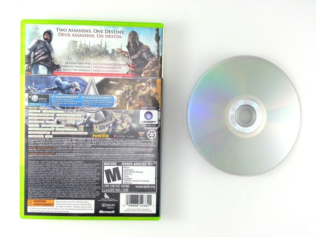 Assassins Creed Revelations game for Xbox 360 | The Game Guy