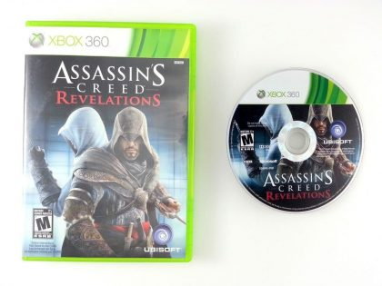 Assassins Creed Revelations game for Microsoft Xbox 360 -Game & Case