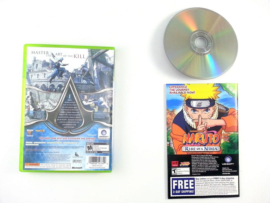 Assassin's Creed game for Xbox 360 (Complete) | The Game Guy