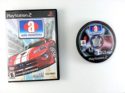 Auto Modellista game for Sony Playstation 2 PS2 -Game & Case