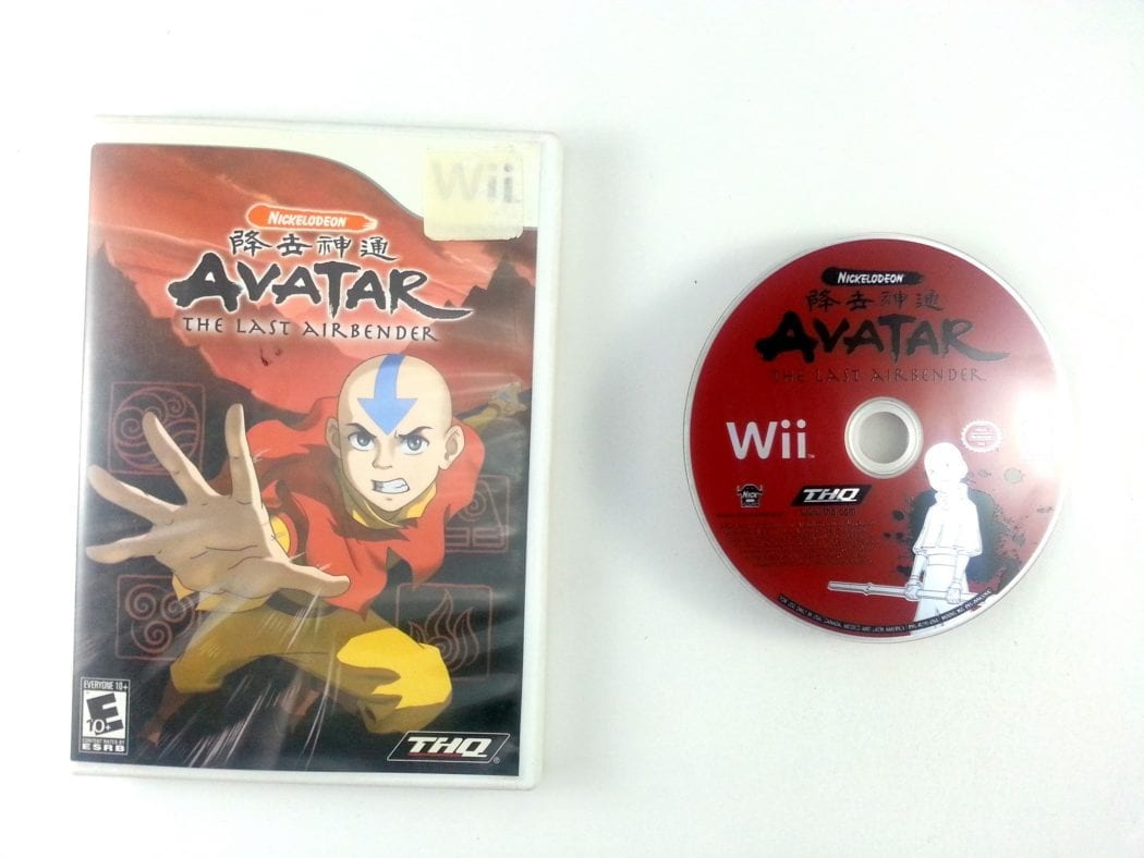 Avatar the Last Airbender game for Nintendo Wii -Game & Case