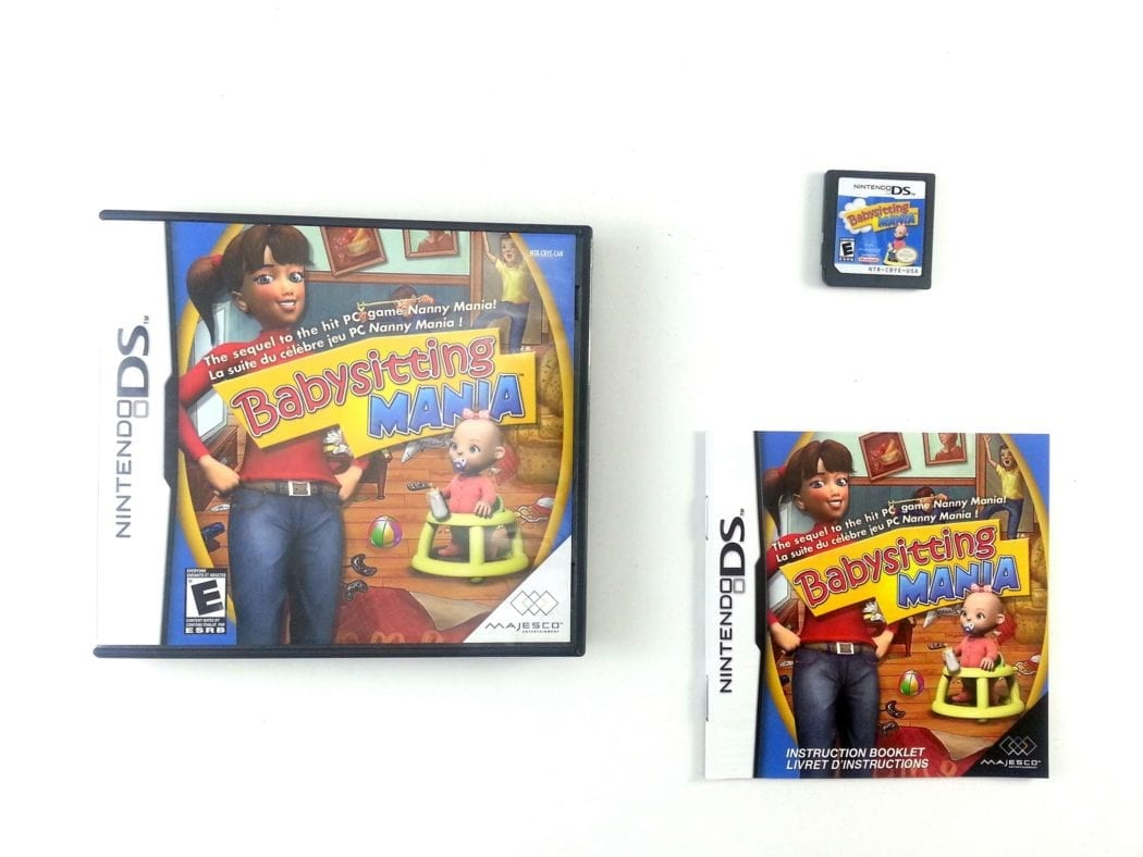 Babysitting Mania game for Nintendo DS -Complete