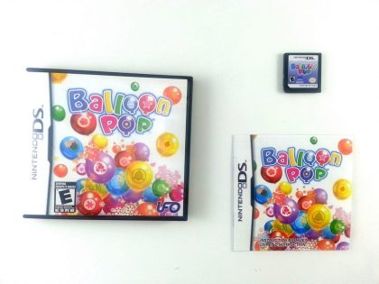 Balloon Pop game for Nintendo DS -Complete