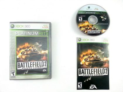 Battlefield 2 Modern Combat game for Microsoft Xbox 360 -Complete