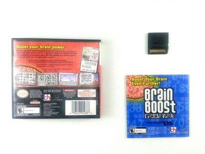 Brain Boost Beta Wave game for Nintendo DS (Complete) | The Game Guy