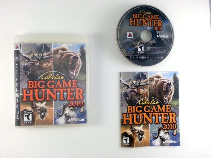Cabela's Big Game Hunter 2010 game for Sony Playstation 3 PS3 -Complete