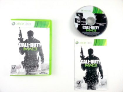 Call of Duty: Modern Warfare 3 game for Microsoft Xbox 360 -Complete
