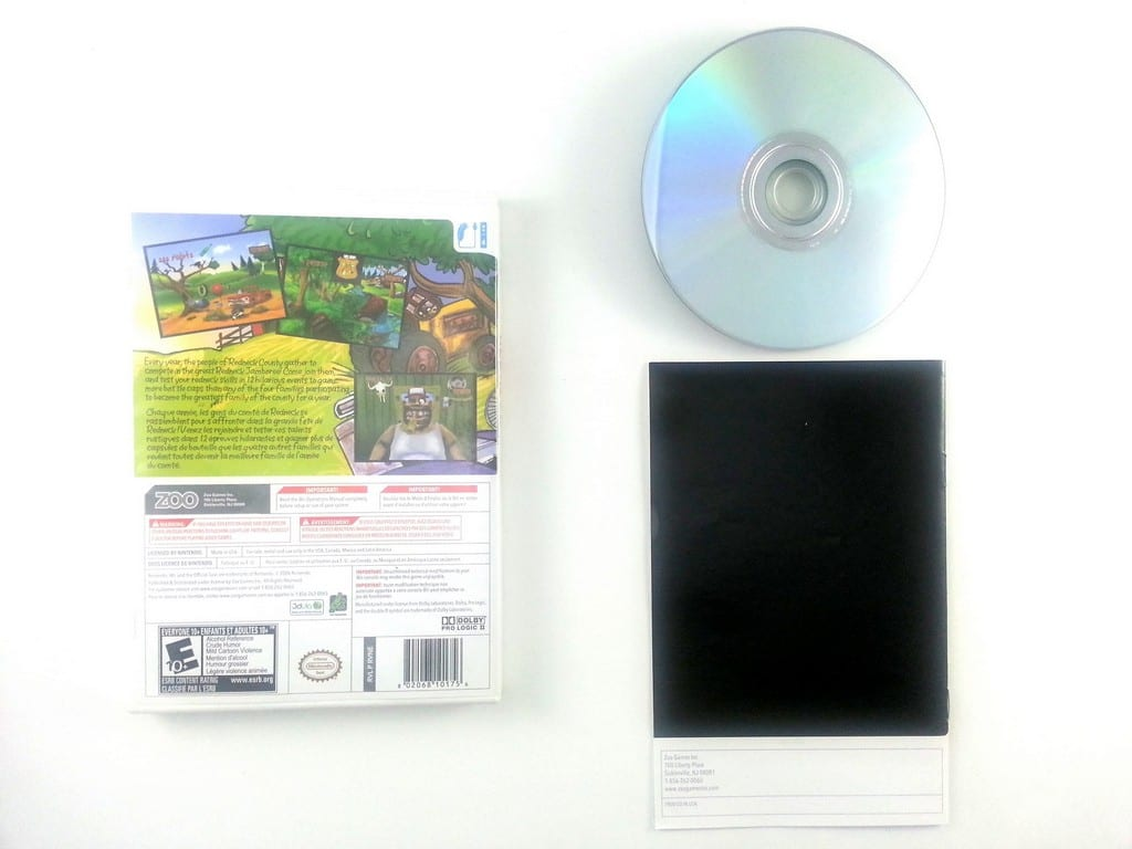 Calvin Tucker's Redneck Jamboree game for Wii (Complete)   The Game Guy