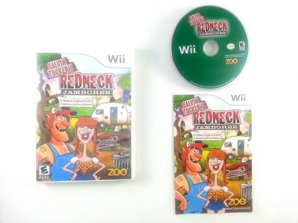 Calvin Tucker's Redneck Jamboree game for Nintendo Wii -Complete