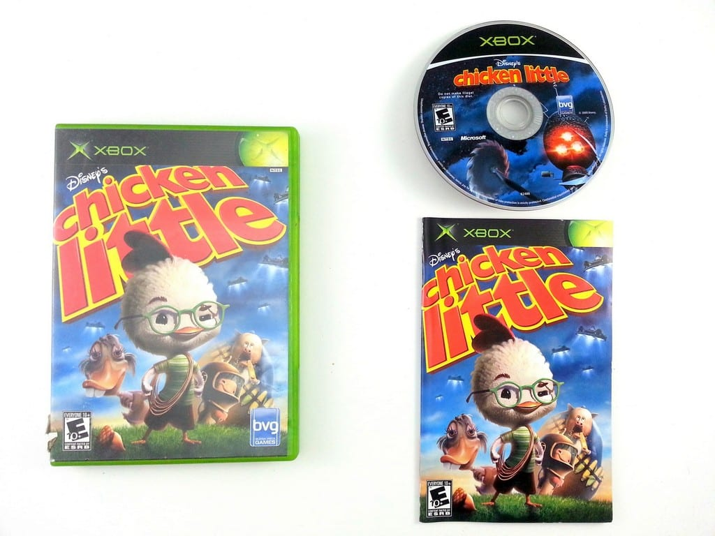 Chicken Little game for Microsoft Xbox -Complete