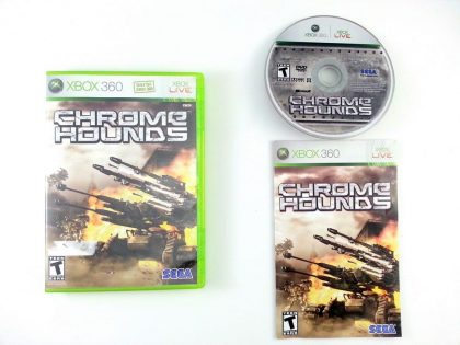 Chromehounds game for Microsoft Xbox 360 -Complete