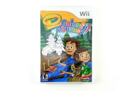 Crayola Colorful Journey game for Nintendo Wii - New