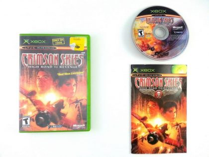 Crimson Skies game for Microsoft Xbox -Complete