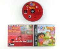 Dora the Explorer Barnyard Buddies game for Sony Playstation PS1 PSX -Complete