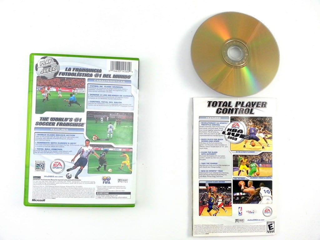 FIFA 2003 game for Xbox (Complete) | The Game Guy