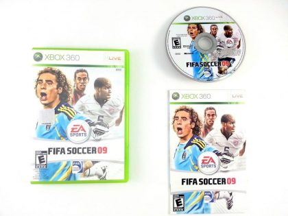 FIFA Soccer 09 game for Microsoft Xbox 360 -Complete