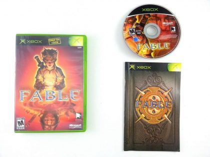 Fable the Lost Chapters game for Microsoft Xbox -Complete