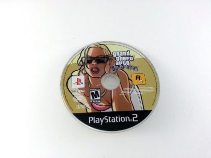 Grand Theft Auto San Andreas game for Sony Playstation 2 PS2 - Loose