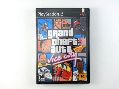 Grand Theft Auto Vice City game for Sony Playstation 2 PS2 - New