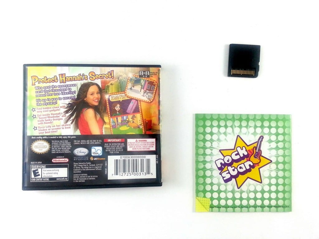 Hannah Montana game for Nintendo DS (Complete) | The Game Guy