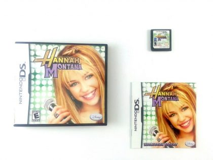 Hannah Montana game for Nintendo DS -Complete