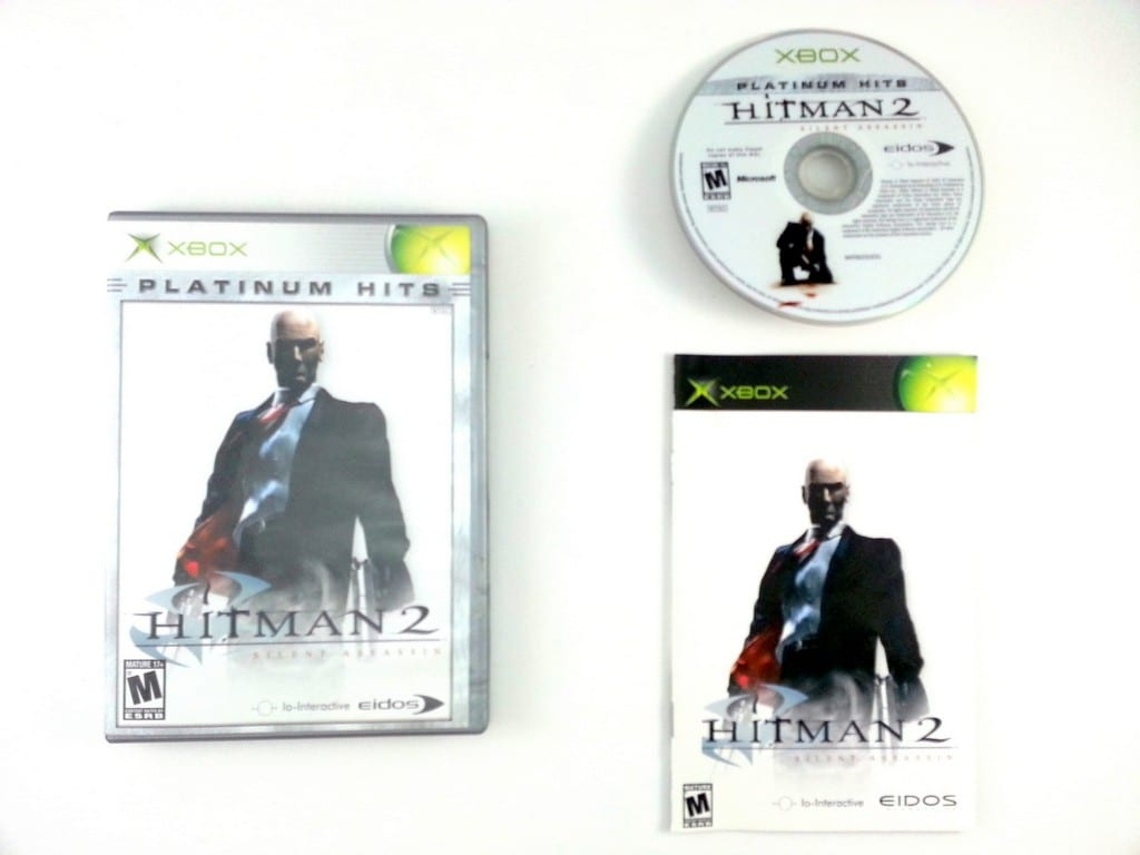 Hitman 2 game for Microsoft Xbox -Complete