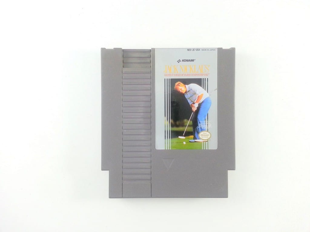 Jack Nicklaus Golf game for Nintendo NES - Loose