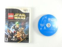 LEGO Star Wars Complete Saga game for Nintendo Wii -Game & Case