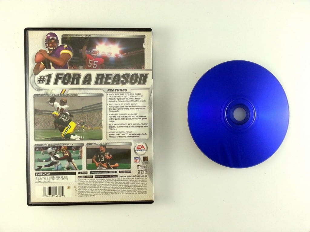 Madden 2002 game for Playstation 2 | The Game Guy