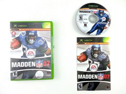 Madden 2007 game for Microsoft Xbox -Complete