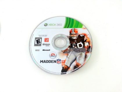 Madden NFL 12 game for Microsoft Xbox 360 - Loose